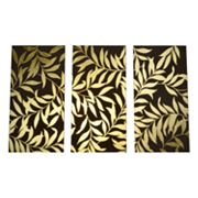 Studio Arts 3-pc. Leaves Canvas Wall Art Set