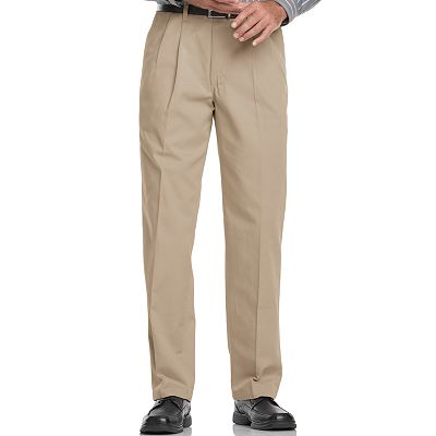 Lee Stain Resist Classic-Fit Pleated Pants - Big and Tall