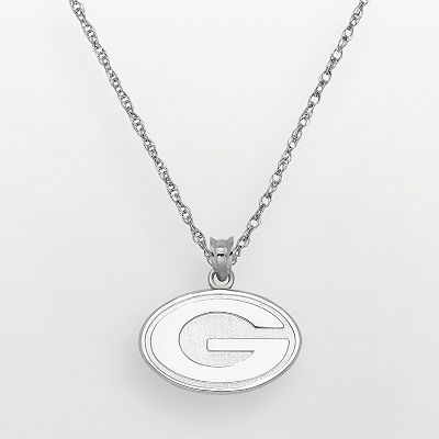 Green Bay Packers Sterling Silver Logo Pendant