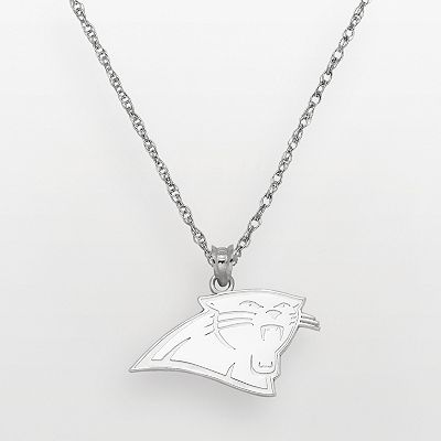 Carolina Panthers Sterling Silver Logo Pendant