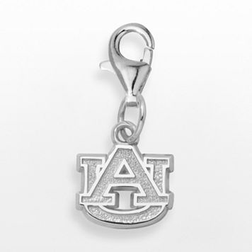 LogoArt Auburn Tigers Sterling Silver Logo Charm