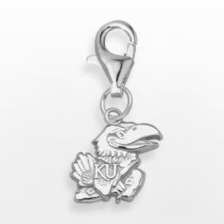 LogoArt Kansas Jayhawks Sterling Silver Logo Charm