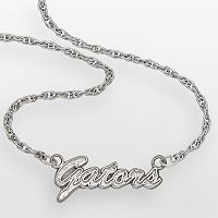 Florida Gators Sterling Silver Script Pendant