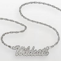 Kentucky Wildcats Sterling Silver Script Pendant