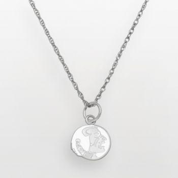 Florida State Seminoles Sterling Silver Logo Pendant