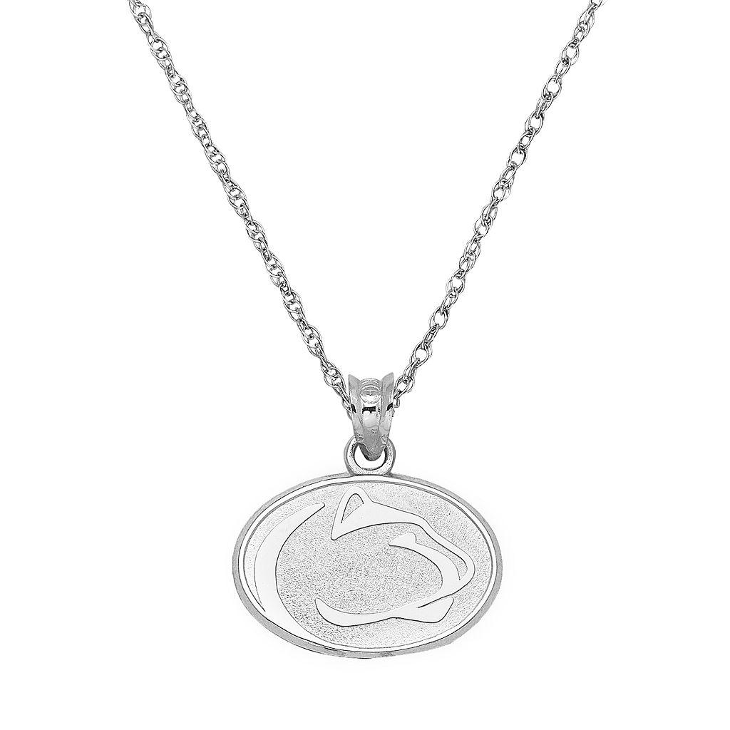 Penn State Nittany Lions Sterling Silver Logo Pendant