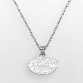 Florida Gators Sterling Silver Logo Pendant
