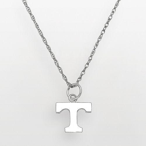 Tennessee Volunteers Sterling Silver Logo Pendant