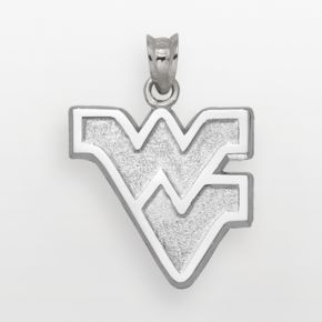 West Virginia Mountaineers Sterling Silver Logo Charm