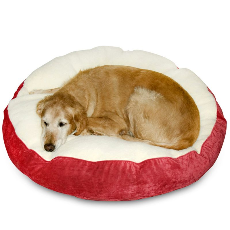 "Happy Hounds Deluxe Scout Dog Bed - 24"" (Red)"