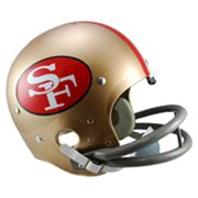 Riddell San Francisco 49ers 64 - 88 Throwback Replica Helmet