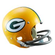Riddell Green Bay Packers 61 - 79 Throwback Replica Helmet