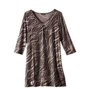 Kohl's Cares Dana Buchman Zebra Sleepshirt