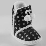 Journee Collection Hipster Boot Slippers - Girls