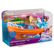Polly Pocket Adventure Cruisin' Boat Playset by Mattel
