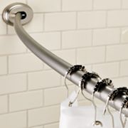 Home Classics Tool-Free Curved Shower Curtain Rod