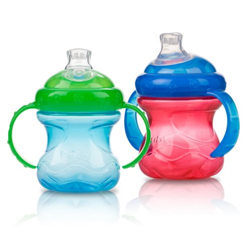 Nuby 2-pk. No-Spill 8-oz. Cups with Super Spout - Baby