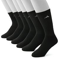 Men's adidas 6 pkClimaLite Crew Performance Socks
