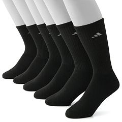 Men's adidas 6-pk. ClimaLite Crew Performance Socks