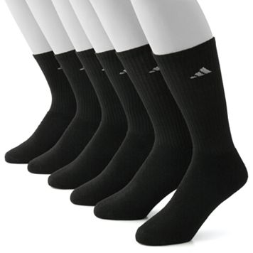 Men's adidas 6-pk. ClimaLite Crew Performance Socks