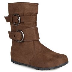 Journee Katty Girls' Midcalf Boots