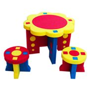 Kid's Adventure Sunflower Table and Stool Set