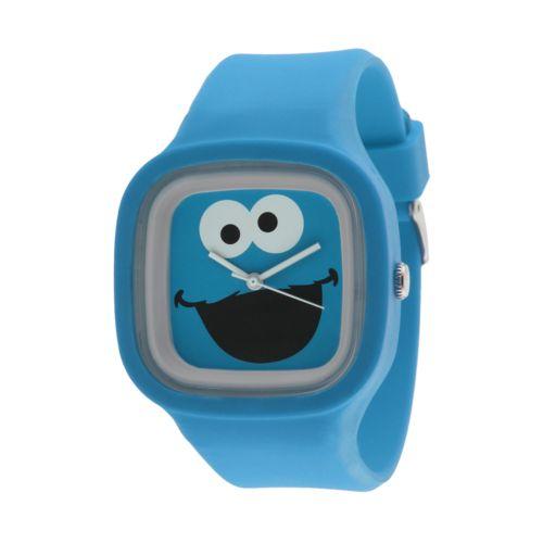 Sesame Street Cookie Monster Blue Jelly Watch - SW628CM - Kids