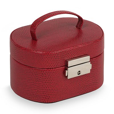 Heritage by Wolf Designs Travel Mini Oval Jewelry Box