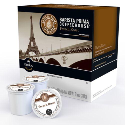 Keurig® K-Cup® Pod Barista Prima Coffeehouse French Dark Roast Coffee - 18-pk.