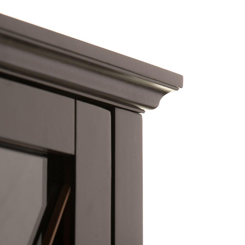 Elegant Home Fashions Rose Floor Cabinet
