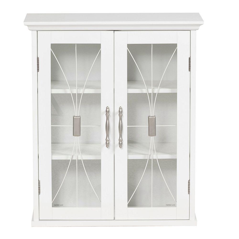 Elegant Home Fashions Rose Wall Cabinet