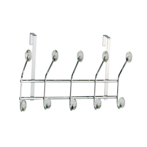 Elegant Home Fashions Over-The-Door 5-Hook Metal Hanger