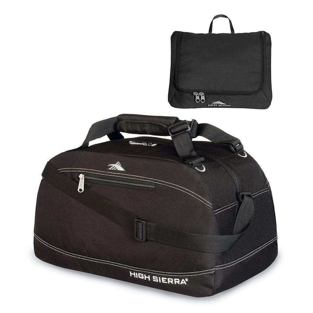 High Sierra 36-in. Pack 'N Go Duffel Bag