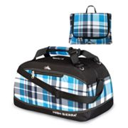 High Sierra 36-in. Pack 'N Go Plaid Duffel Bag