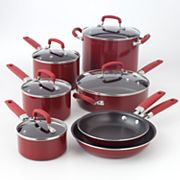 Bobby Flay 12-pc. Aluminum Cookware Set