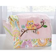 Kids Line Dena Happi Tree Embroidered Boa Blanket
