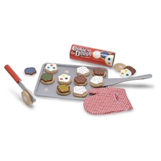 Melissa and Doug Wooden Slice and Bake Cookie Set