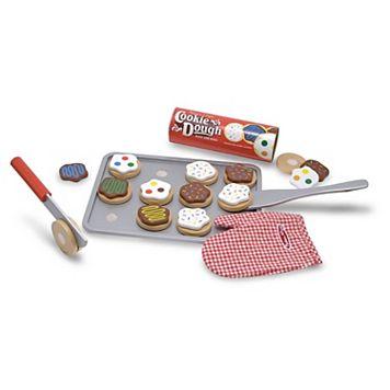 Melissa & Doug Wooden Slice & Bake Cookie Set