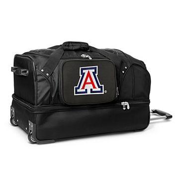 Arizona Wildcats 27-Inch Rolling Duffel Bag