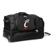 Cincinnati Bearcats 27-Inch Rolling Duffel Bag