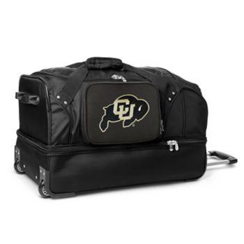 Colorado Buffaloes 27-Inch Rolling Duffel Bag