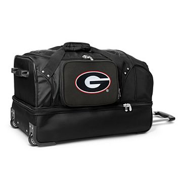Georgia Bulldogs 27-Inch Rolling Duffel Bag