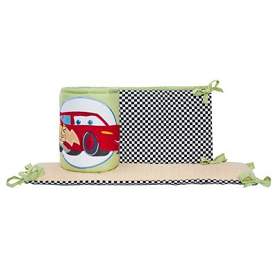 Disney/Pixar Cars Junior Junction Fast Friends All-Around Crib Bumper by Kids Line