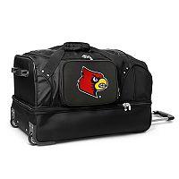 Louisville Cardinals 27-Inch Rolling Duffel Bag