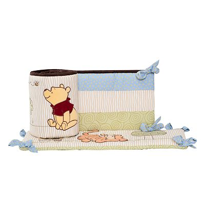 Disney Winnie the Pooh Friendship Pooh All-Around Crib Bumper by Kids Line