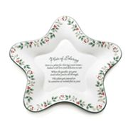 Pfaltzgraff Winterberry Star-Shaped Sharing Plate