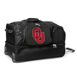 Oklahoma Sooners 27-Inch Rolling Duffel Bag