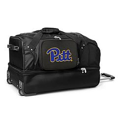 Pitt Panthers 27-Inch Rolling Duffel Bag