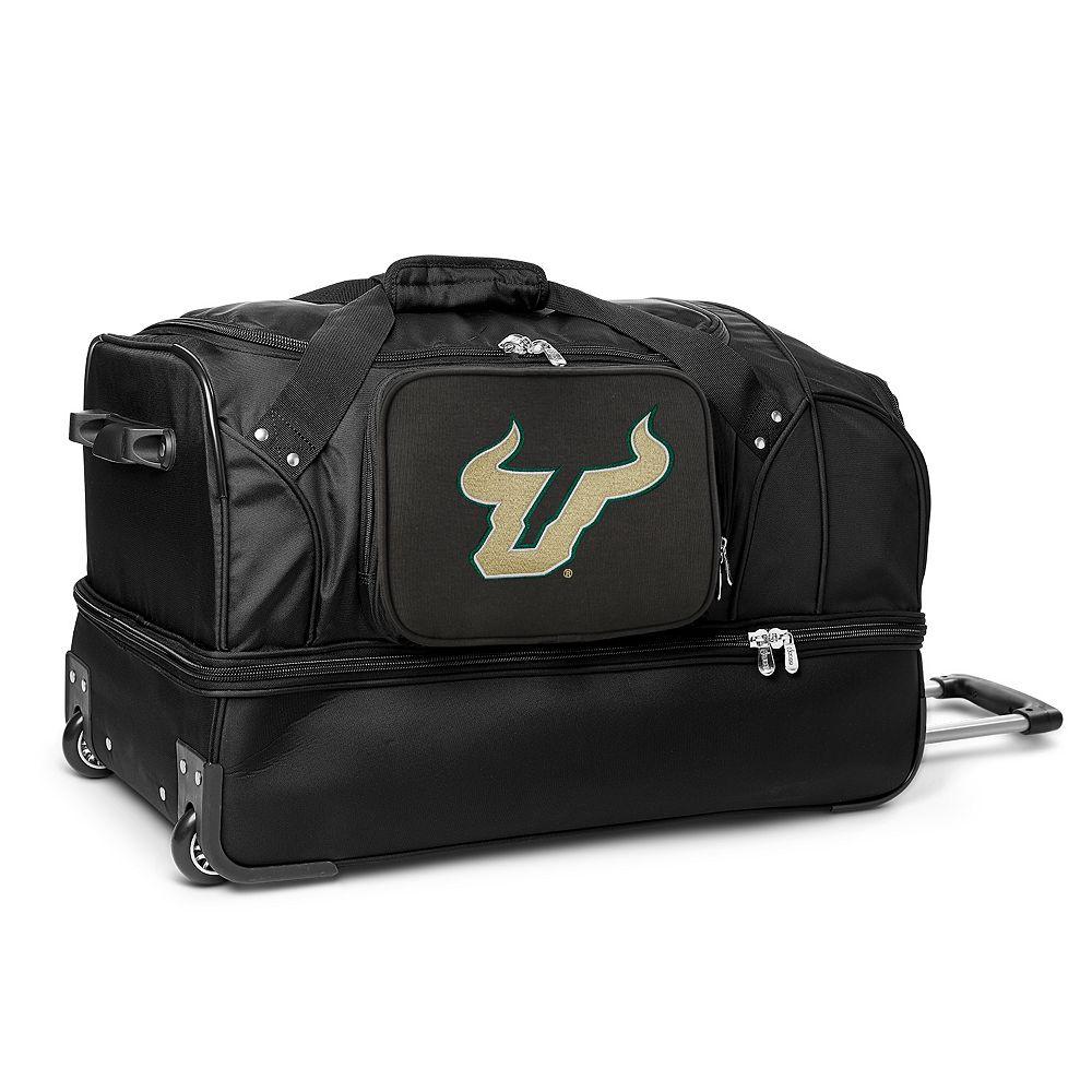 South Florida Bulls 27-Inch Rolling Duffel Bag