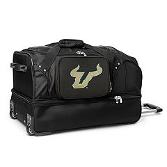 South Florida Bulls 27-Inch Rolling Duffel Bag